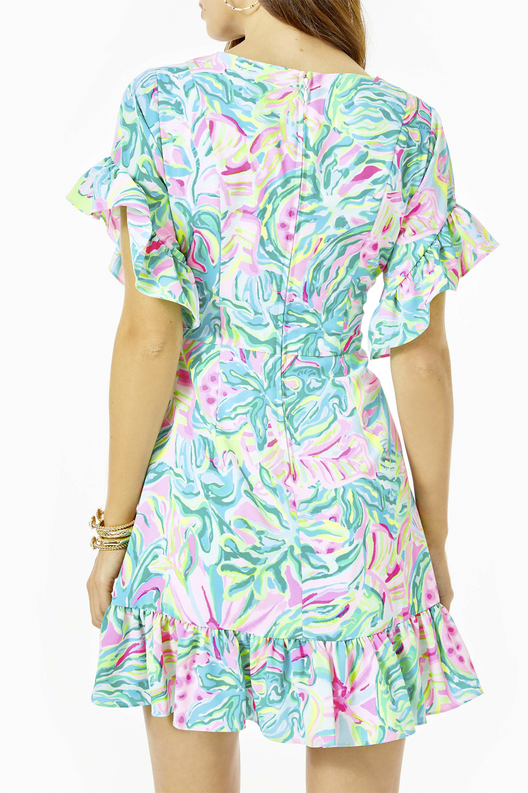 Lilly Pulitzer  Darlah Stretch Dress - Side Cropped Image