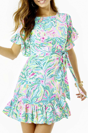 Lilly Pulitzer  Darlah Stretch Dress - Front cropped