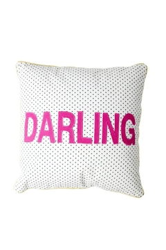 Rice DK Darling Appliqued Cushion - Alternate List Image