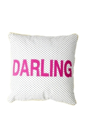 Rice DK Darling Appliqued Cushion - Product Mini Image