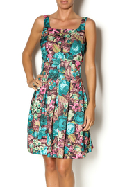 Darling Jade Floral Dress - Product Mini Image