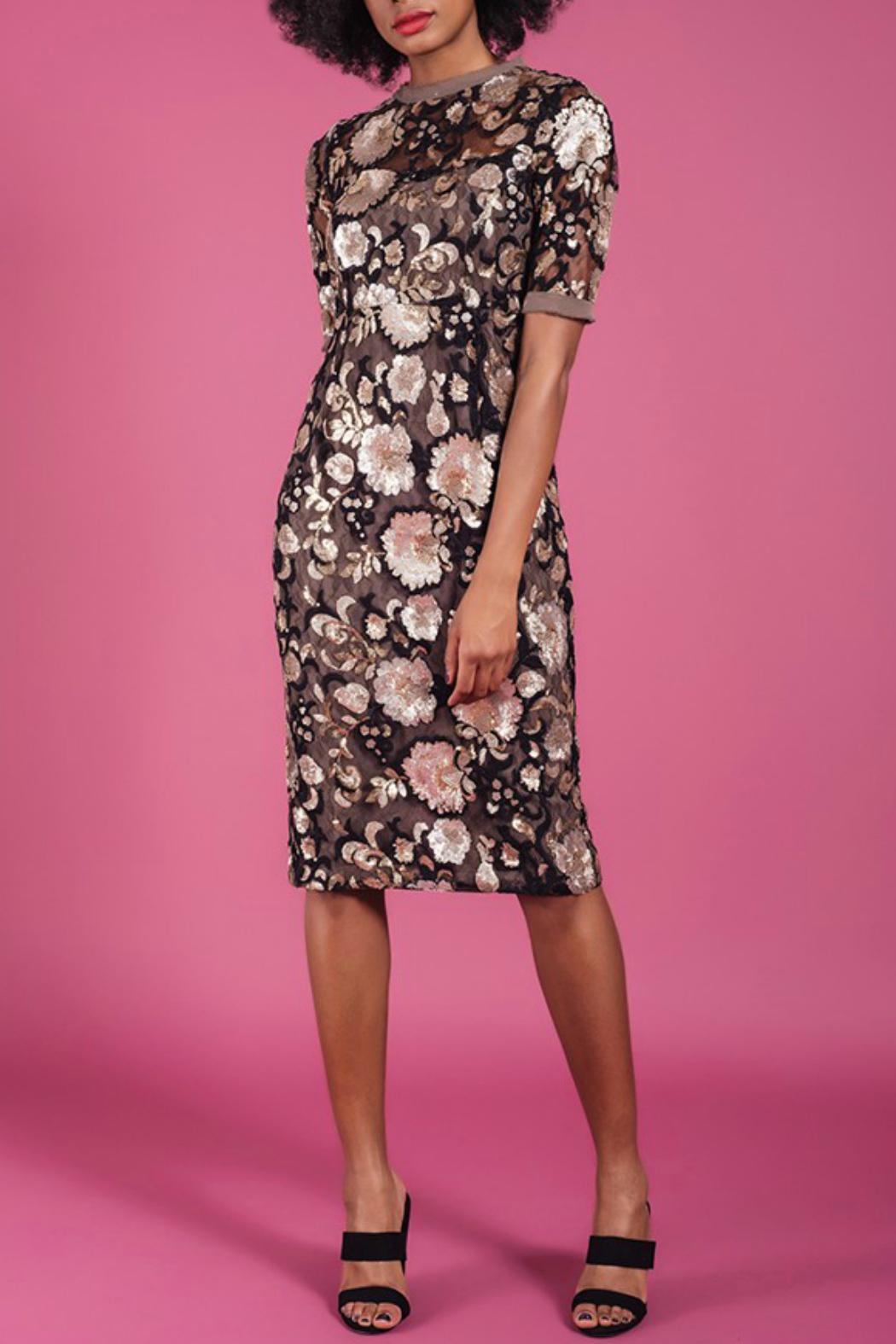 Darling Renee Fitted Dress - Main Image