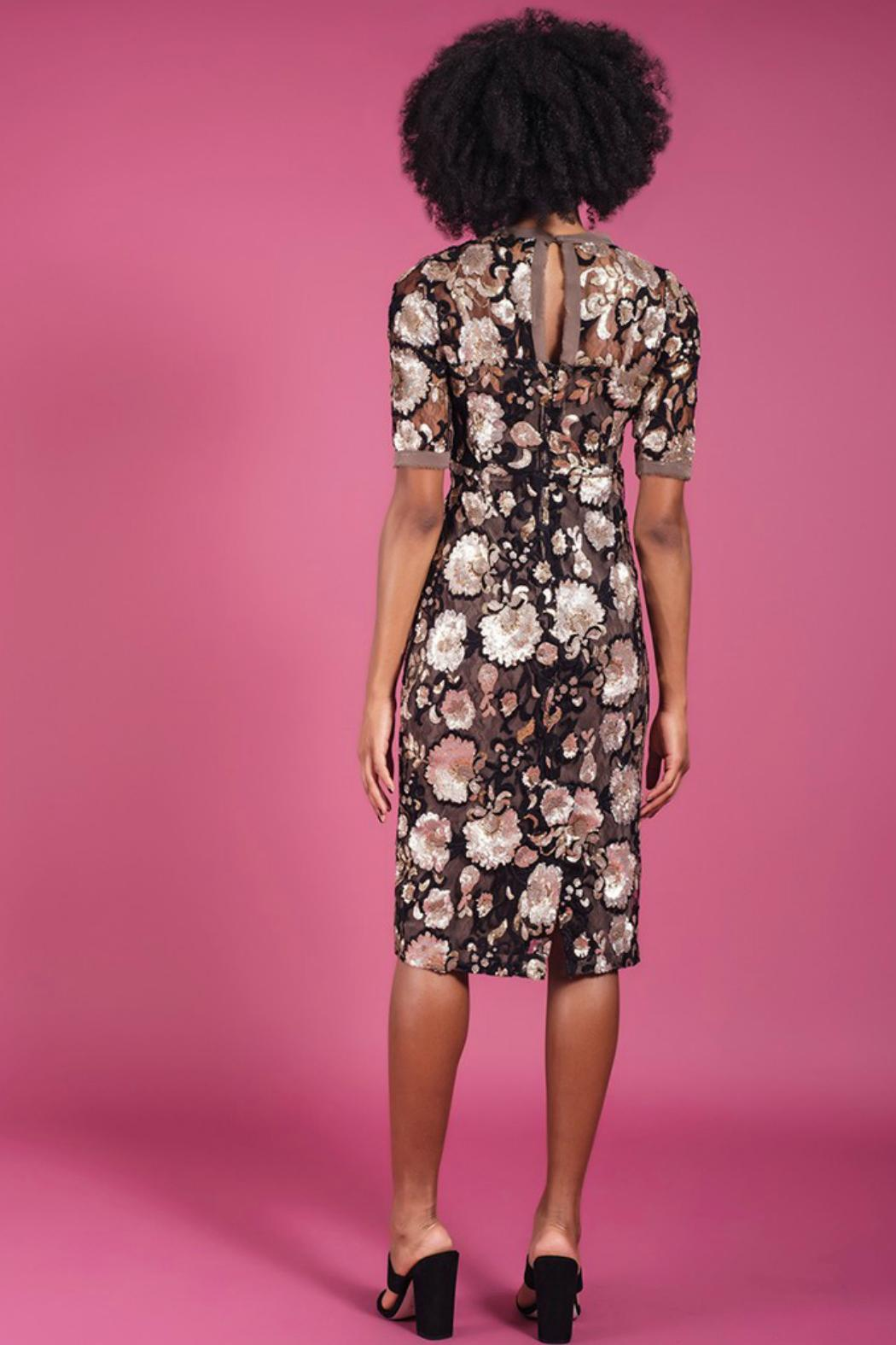 Darling Renee Fitted Dress - Front Full Image