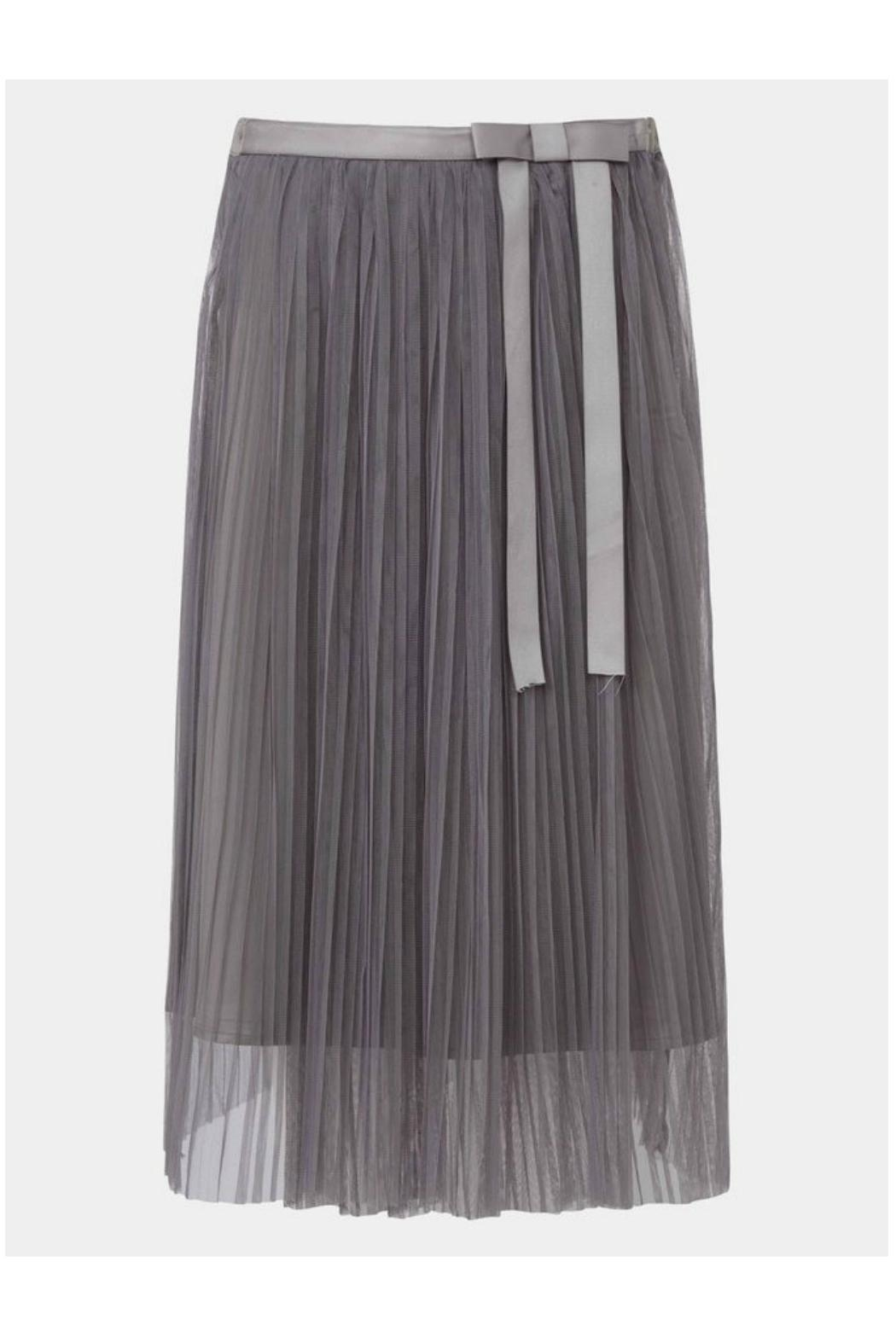Darling Roxy Grey Skirt - Front Cropped Image