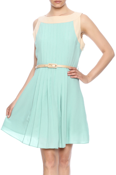 Darling Sleeveless Pleated Dress - Product List Image