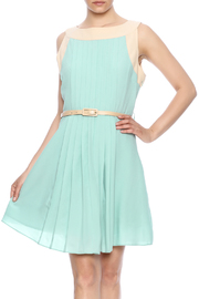 Darling Sleeveless Pleated Dress - Product Mini Image