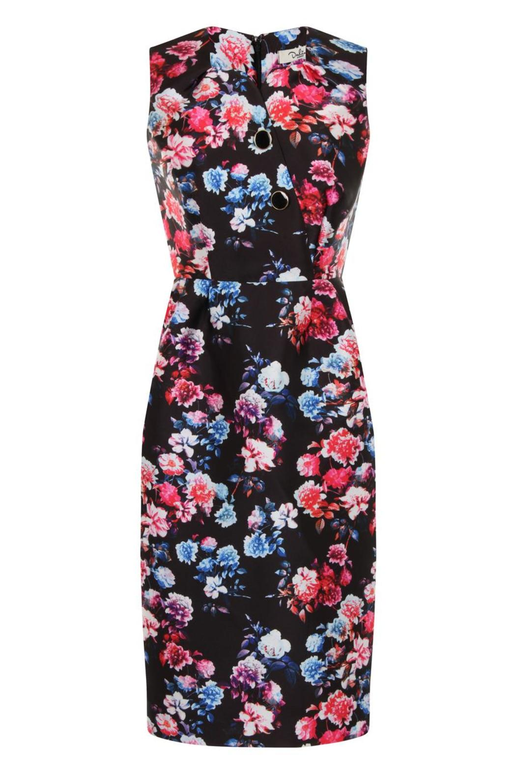 Darling London Rosalie Fitted Dress - Main Image