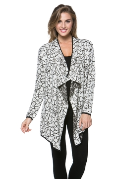 Shoptiques Product: Darped Open-Front Cardigan
