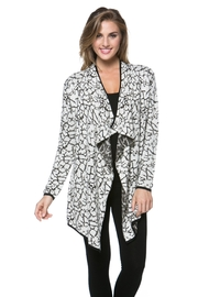 High Secret Draped Open-Front Cardigan - Product Mini Image