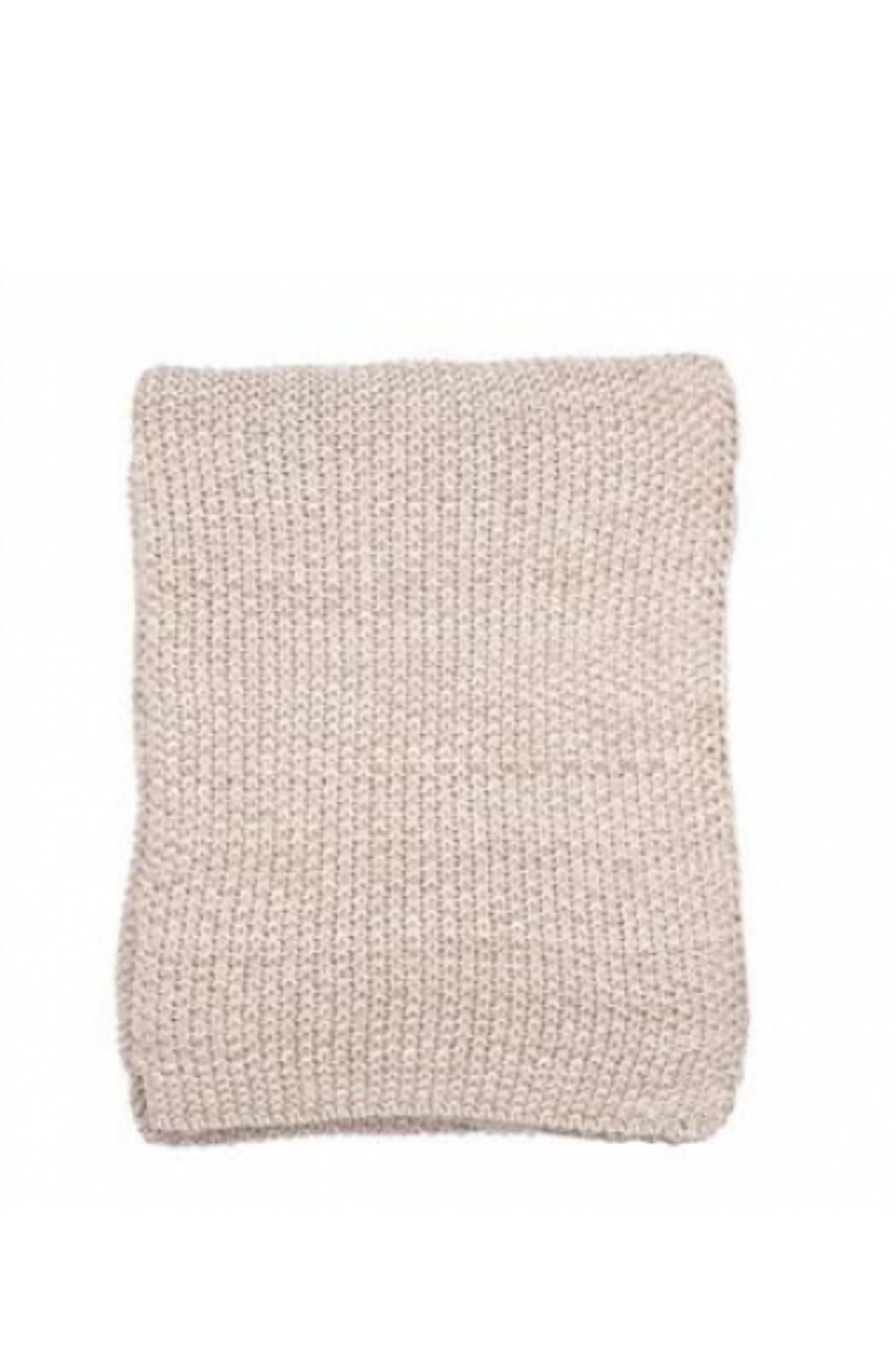 Darzzi Mini Moss Throw - Front Cropped Image