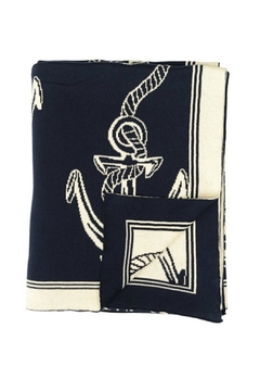 Shoptiques Product: Rope & Anchor Throw