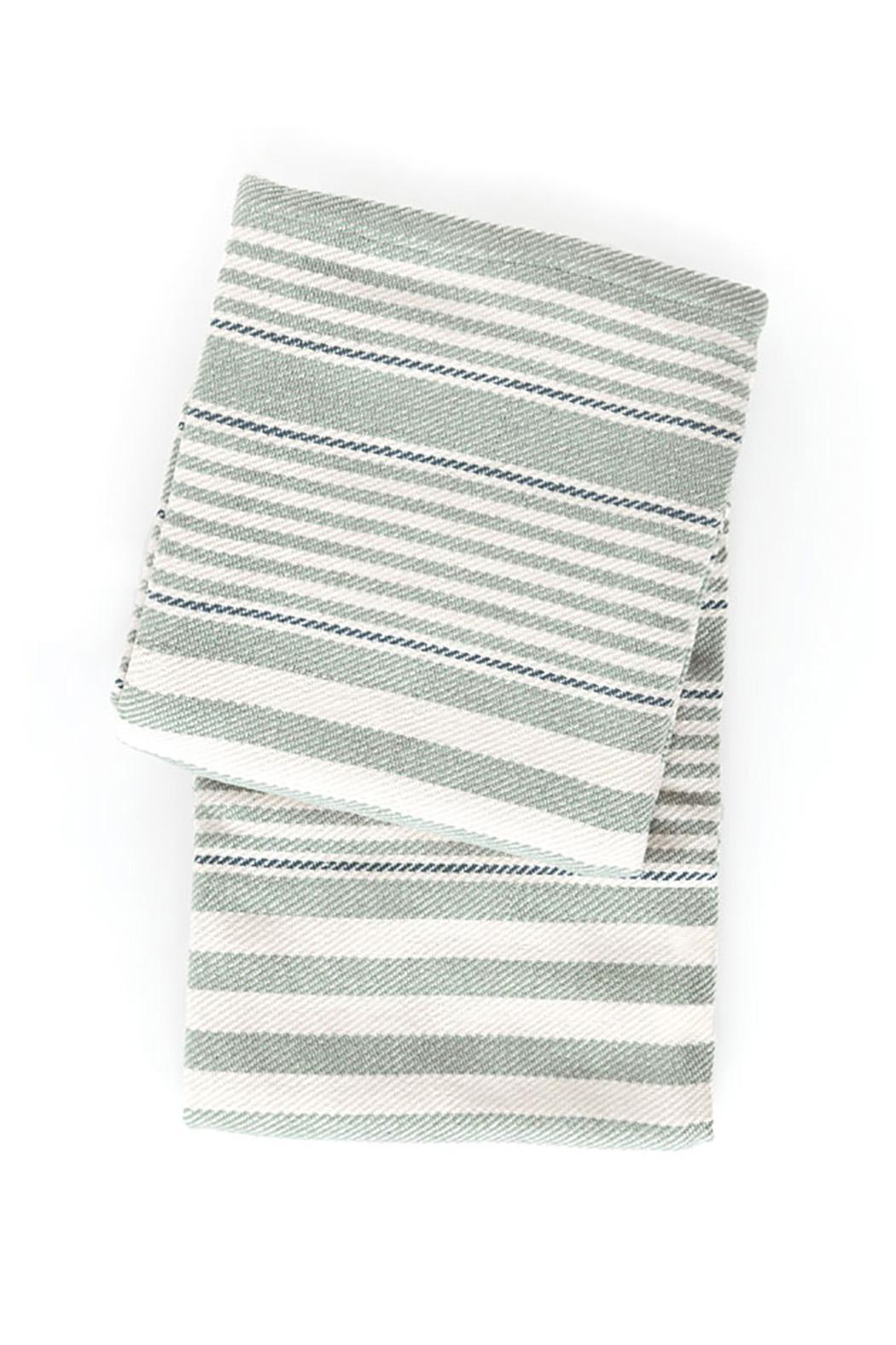 Dash and albert rugby stripe light blue throw from florida for Dash and albert blanket