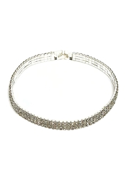 Dasha Rhinestone Choker - Product Mini Image