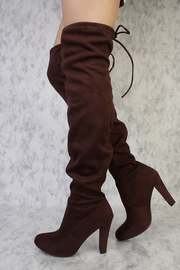 Forever Dasia Over-The-Knee Boots - Product Mini Image