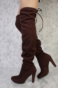 Forever Dasia Over-The-Knee Boots - Alternate List Image