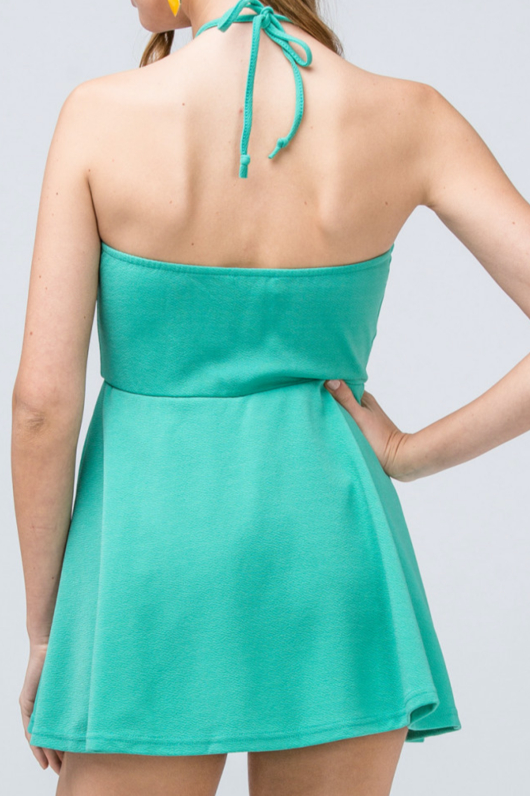 entro  Date Night romper - Front Cropped Image