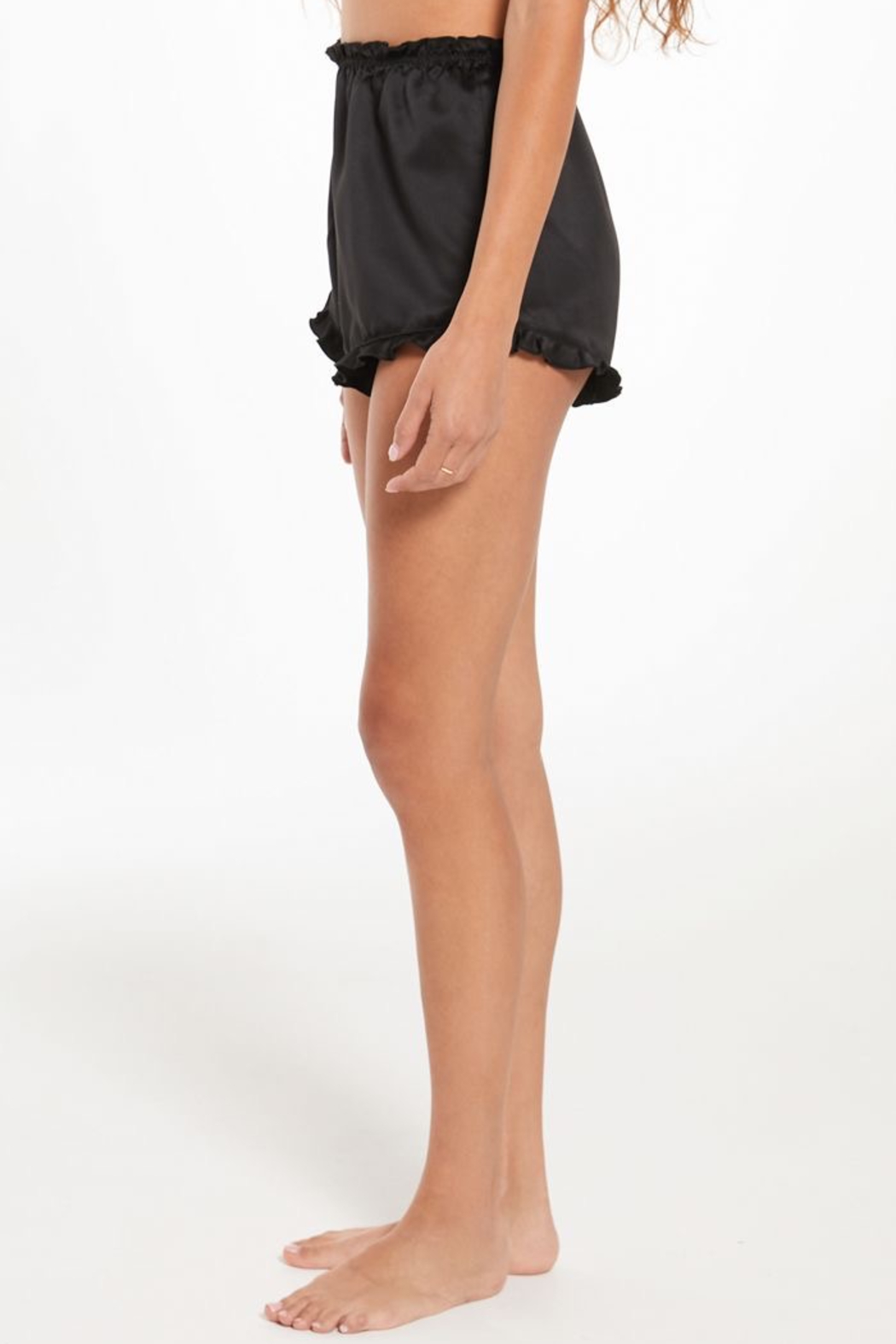 z supply Date Night Satin Short - Side Cropped Image
