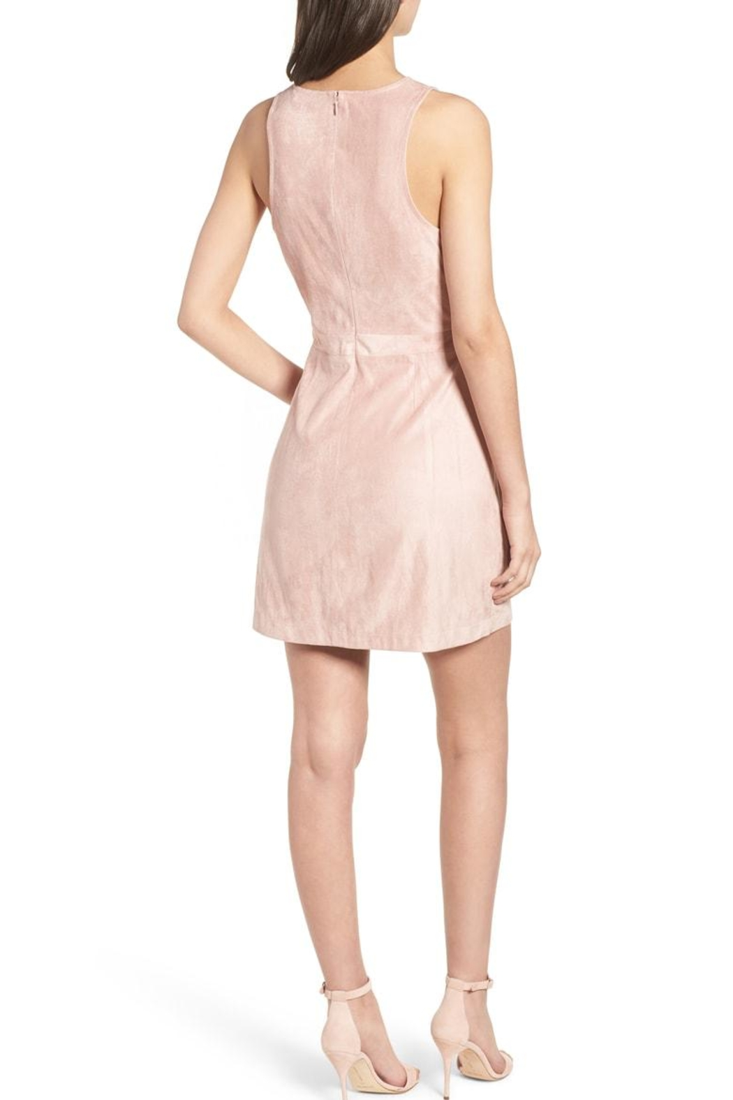 Cupcakes and Cashmere Daton Suede Dress - Front Full Image