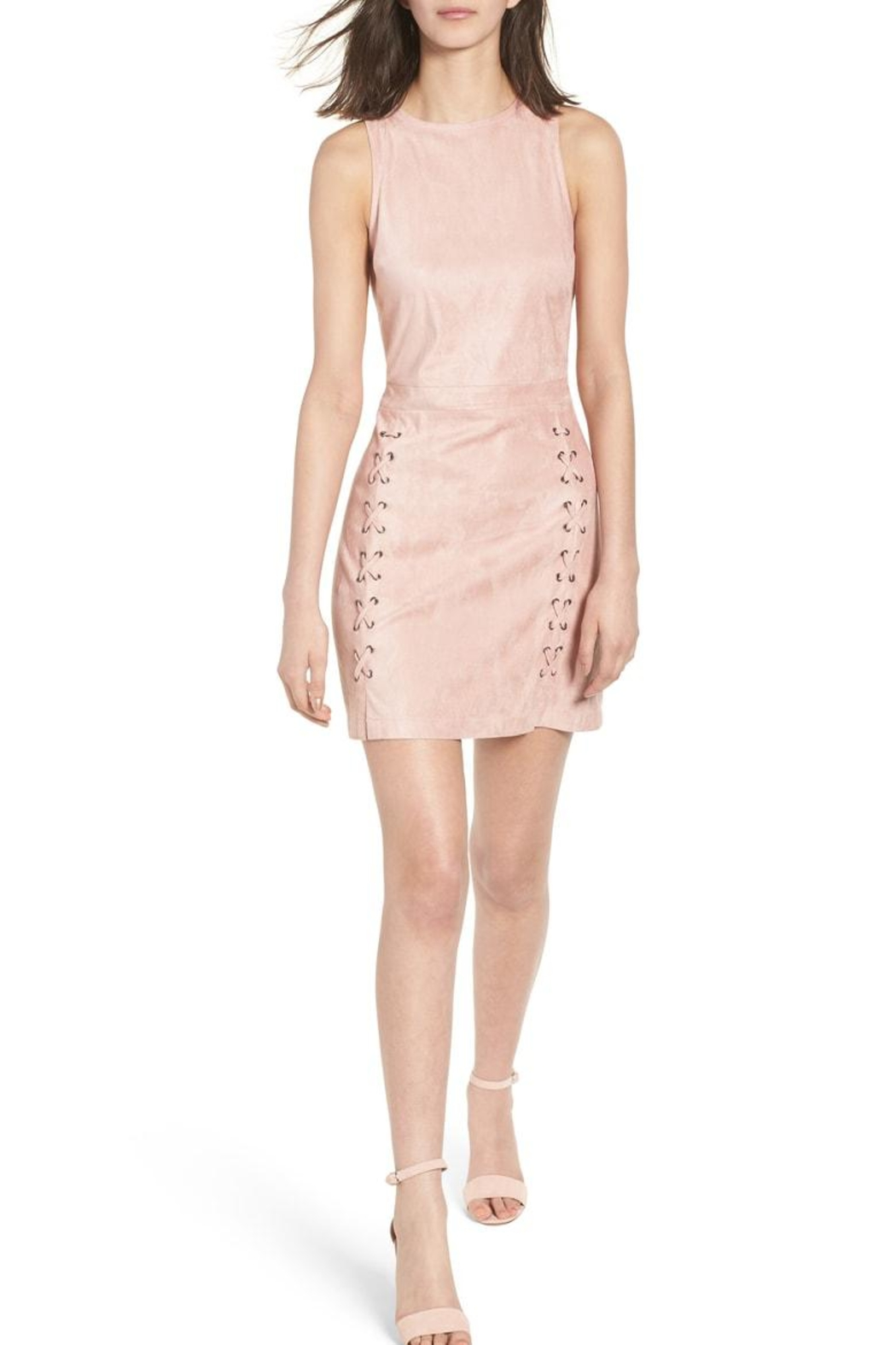 Cupcakes and Cashmere Daton Suede Dress - Main Image