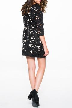 Shoptiques Product: Embroidered Bodycon Dress