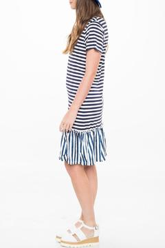 Shoptiques Product: Frill Striped Dress