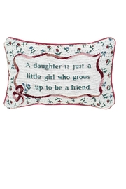 MWW DAUGHTER WORD-PILLOW - Product Mini Image