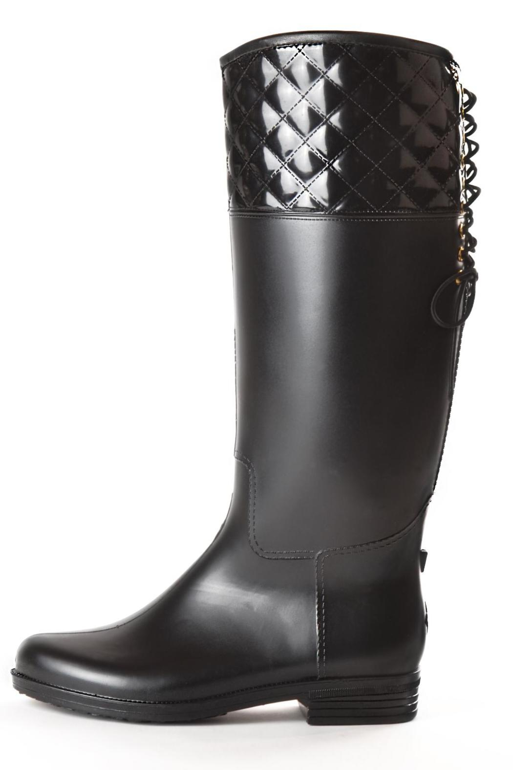 Dav Lace-Up Rainboots from Seattle by