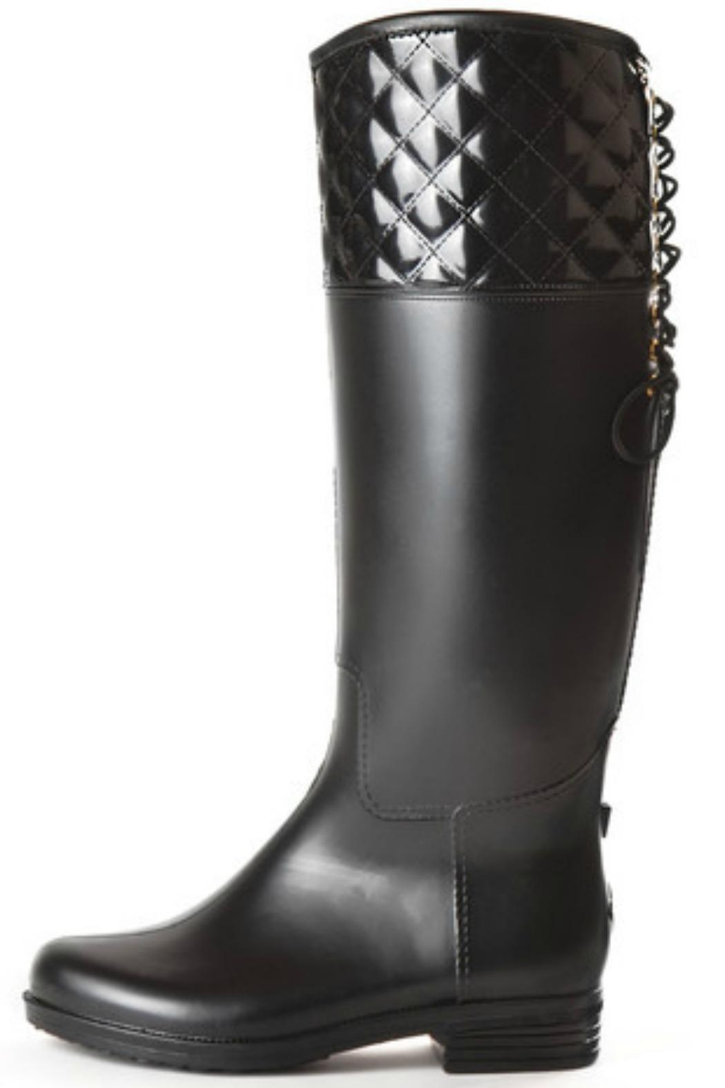 Dav Rain Victorie Adjustable Boot - Front Cropped Image