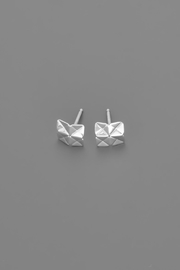 Dave + Esty Square Stud Earrings - Side cropped