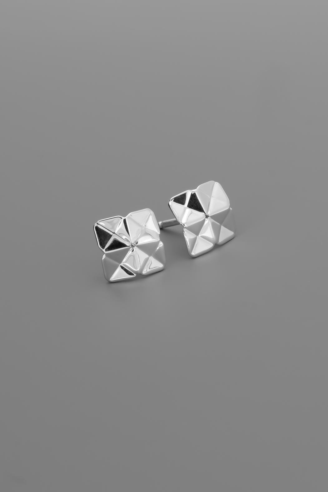 Dave + Esty Square Stud Earrings - Main Image