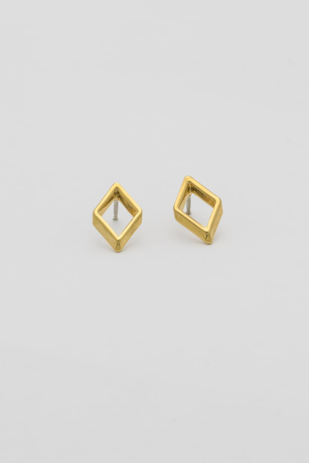 Dave + Esty Rhombus Stud Earring - Main Image
