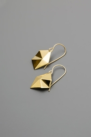 Dave + Esty Diamond Tessellation Earrings - Front cropped