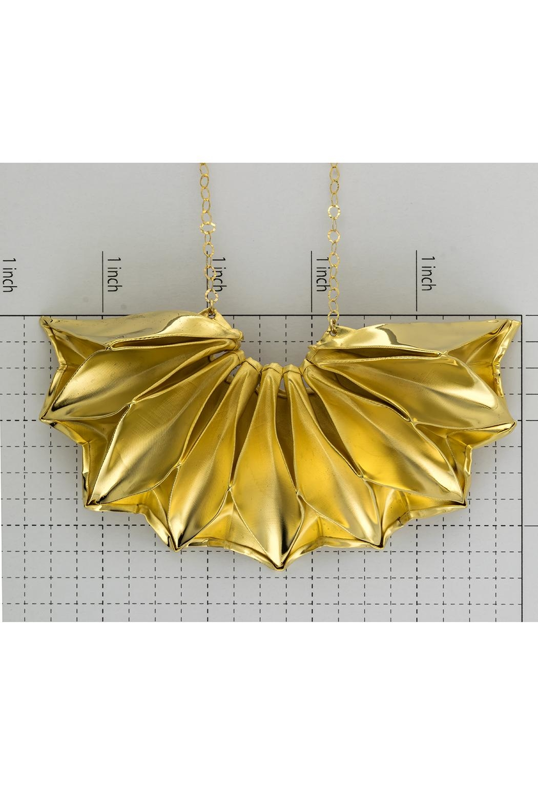 Dave + Esty Fabric Short Necklace - Side Cropped Image