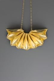 Dave + Esty Fabric Short Necklace - Back cropped
