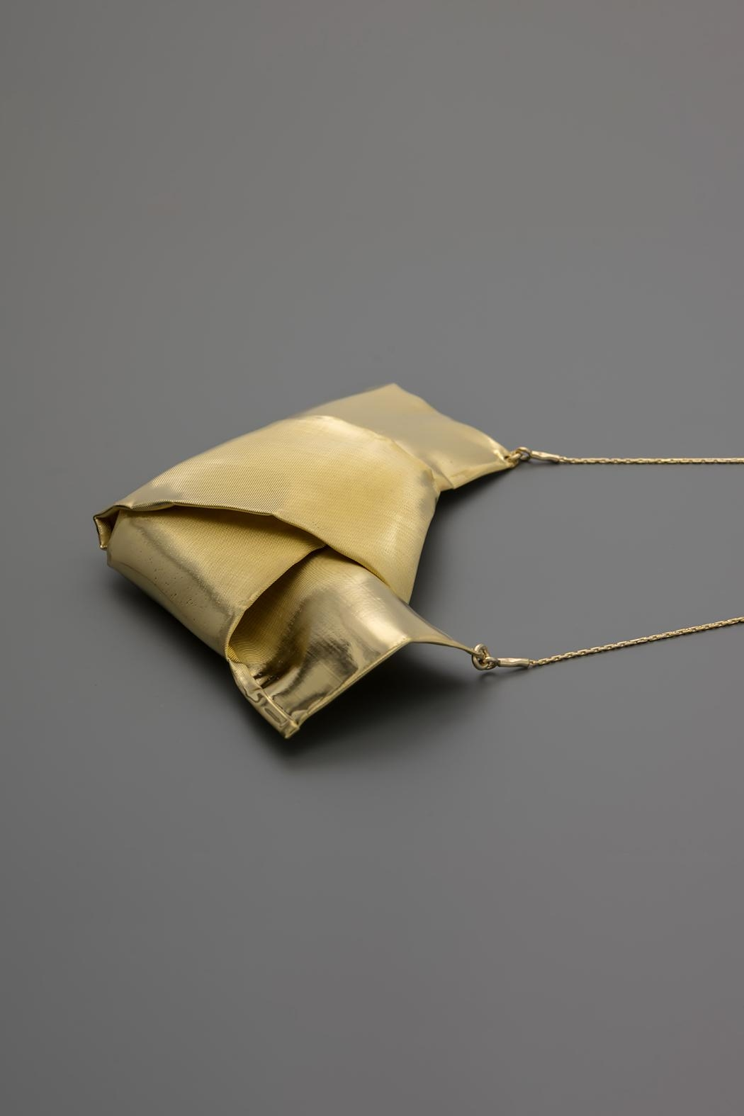 Dave + Esty Knotted Fabric Necklace - Side Cropped Image