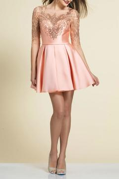 Shoptiques Product: Beaded Pleated Dress