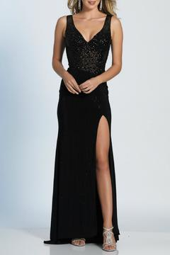 Shoptiques Product: Black Beaded Gown