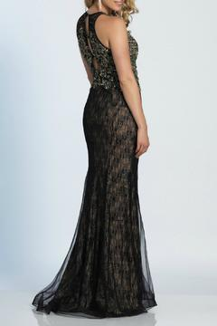Dave and Johnny Embroidered Gown - Alternate List Image