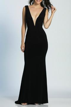 Shoptiques Product: Deep V Gown