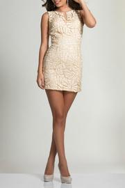 Dave and Johnny Mini Sequin Dress - Product Mini Image