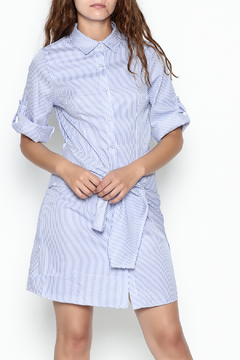 Shoptiques Product: Stripe Collared Dress