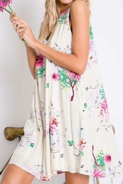 Davi & Dani Floral Print Dress - Alternate List Image