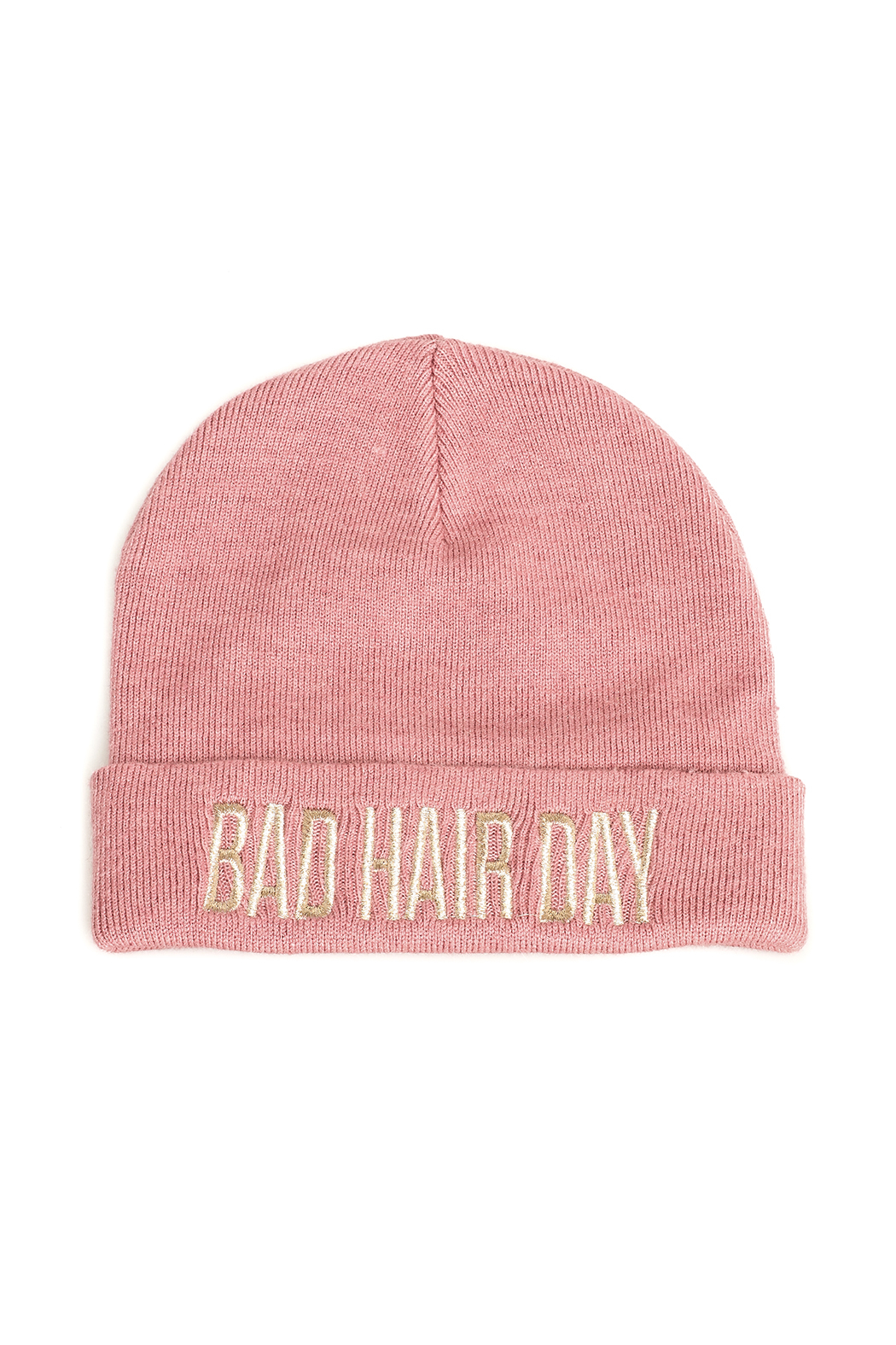 david and young Bad Hair Day Beanie - Front Cropped Image