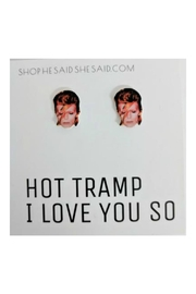 He Said, She Said David Bowie Earrings - Front cropped