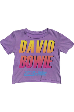 Shoptiques Product: David Bowie Not-Quite Cropped Tee