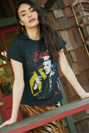 Daydreamer David Bowie Studded Tour Tee - Product Mini Image