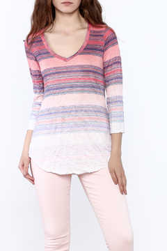 David Cline Stripe Ombre Tunic Top - Product List Image