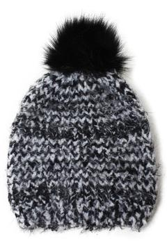 Shoptiques Product: Boucle Feathered  Beanie
