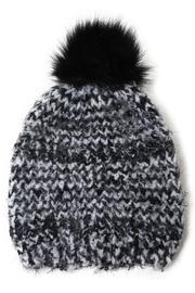 David & Young Boucle Feathered  Beanie - Product Mini Image
