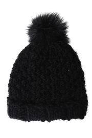David & Young Feather Yarn Hat - Front cropped